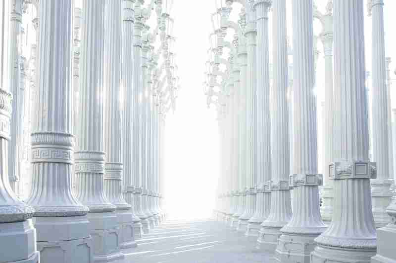difference between pillar and column
